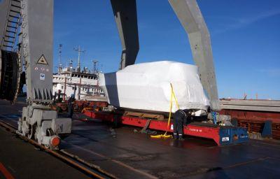 Izstāžu laivu piegāde Nīderlande/Francija – Krievija